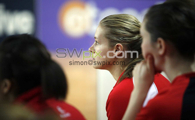 PICTURE BY Ben Duffy/SWPIX.COM - Netball - The Co-Operative International Series - England v Jamaica, Second Test - The Skydome arena, Coventry, England - 24/02/09...Copyright - Simon Wilkinson - 07811267706...England's Tamsin Greenway
