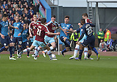 02/05/16 Sky Bet Leaue Championship  Burnley v QPR<br /> Michael Keane shot blocked