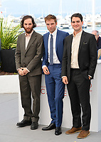 Robert Pattinson, Josh Safdie &amp; Benny Safdie at the photocall for &quot;Good Time&quot; at the 70th Festival de Cannes, Cannes, France. 25 May 2017<br /> Picture: Paul Smith/Featureflash/SilverHub 0208 004 5359 sales@silverhubmedia.com