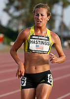 Amy Hastings during the 5000m run where she ran 15:5987 at the Adidas Track Classic on Saturday, May 16, 2009. Photo by Errol Anderson, The Sporting Image.net