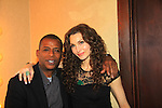 """- A Tribute to Pine Valley - All My Children's Alicia Minshew """"Kendall"""" & Darnell Williams """"Jesse"""" on February 16, 2013 with fans for Q&A, autographs, photos at Foxwoods Resorts Casino in Mashantucket, CT and February 17, 2013 at Valley Forge Casino Resort in King of Prussia, PA. (Photo by Sue Coflin/Max Photos)"""