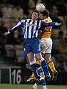 03/04/2007       Copyright Pic: James Stewart.File Name : sct_jspa12_motherwell_v_kilmarnock.GARY LOCKE  AND DANNY MURPHY CHALLENGE.....James Stewart Photo Agency 19 Carronlea Drive, Falkirk. FK2 8DN      Vat Reg No. 607 6932 25.Office     : +44 (0)1324 570906     .Mobile   : +44 (0)7721 416997.Fax         : +44 (0)1324 570906.E-mail  :  jim@jspa.co.uk.If you require further information then contact Jim Stewart on any of the numbers above.........