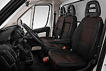 Front seat view of 2017 Peugeot Boxer 410 4 Door Parcel Van Front Seat  car photos