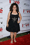 "Actress Marissa Jaret Winokur arrives at the Much Love Animal Rescue Presents The Second Annual ""Bow Wow WOW!"" at The Playboy Mansion on July 19, 2008 in Beverly Hills, California."