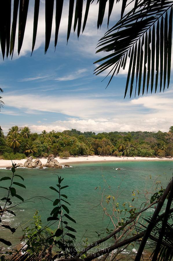 Beach scene at Manuel Antonio National Park, Costa Rica