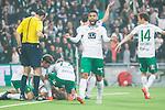 ***BETALBILD***  <br /> Stockholm 2015-09-27 Fotboll Allsvenskan Hammarby IF - AIK :  <br /> Hammarbys Imad Khalili jublar efter 1-0 av Erik Israelsson under matchen mellan Hammarby IF och AIK <br /> (Foto: Kenta J&ouml;nsson) Nyckelord:  Fotboll Allsvenskan Tele2 Arena Hammarby HIF Bajen AIK Derby jubel gl&auml;dje lycka glad happy