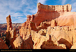 Hoodoos and Fins at top of Queen's Garden Trail, Bryce Canyon National Park, Utah