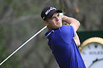 Martin Kaymer tees off on the 10th tee during Day 2 Friday of the Abu Dhabi HSBC Golf Championship, 21st January 2011..(Picture Eoin Clarke/www.golffile.ie)
