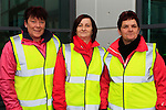 Yvonne McKenna, Shirley O'Brien and Mary Connor at the Operation Transformation National Walk...Photo NEWSFILE/Jenny Matthews..(Photo credit should read Jenny Matthews/NEWSFILE)