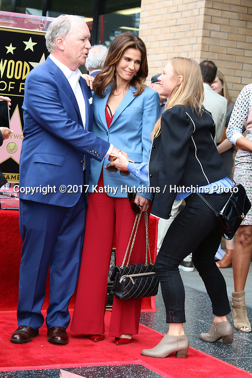 LOS ANGELES - MAY 15:  Ken Corday, Kristian Alfonso, Marcie Miller_ at the Ken Corday Star Ceremony on the Hollywood Walk of Fame on May 15, 2017 in Los Angeles, CA
