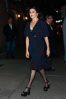 NOV 13 Rachel Weisz  At The Late Show With Stephen Colbert