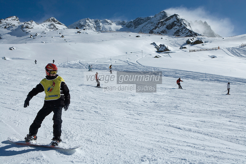 Europe/France/Rhone-Alpes/73/Savoie/Val-Thorens::Le domaine skiable et les pistes