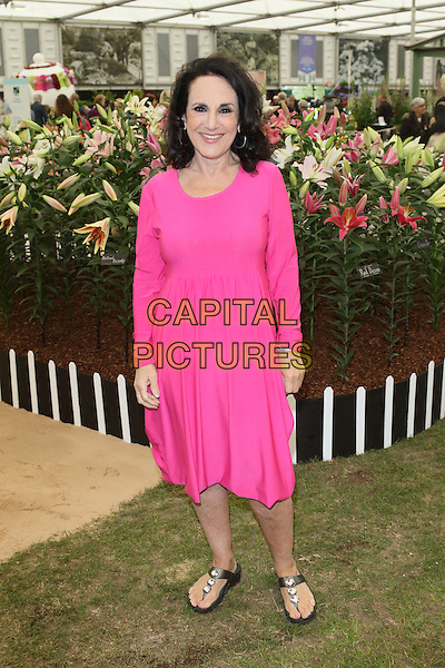 LONDON, ENGLAND - Lesley Joseph attends the 2015 RHS Chelsea Flower Show press &amp; VIP preview day at the Royal Hospital Chelsea on 18th May 2015 in London, England<br /> CAP/JIL<br /> &copy;Jill Mayhew/Capital Pictures