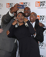 "NEW YORK, NY-September 30:William Jelani Cobb, Angelique Kidjo, Anthony Kapel Jones, Khalil Gibran Muhammed, at 54th New York Film Festival - Opening Night Gala Presentation And ""13th"" World Premiere at Alice Tully Hall at Lincoln Center in New York. September 30, 2016. Credit:RW/MediaPunch"