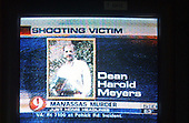 Rockville, MD - October 10, 2002 -- Frame grab from WUSA-TV of shooting victim in Manassas, VA.<br />                   <br /> (RESTRICTION: NO New York or New Jersey Newspapers or newspapers within a 75 mile radius of New York City)