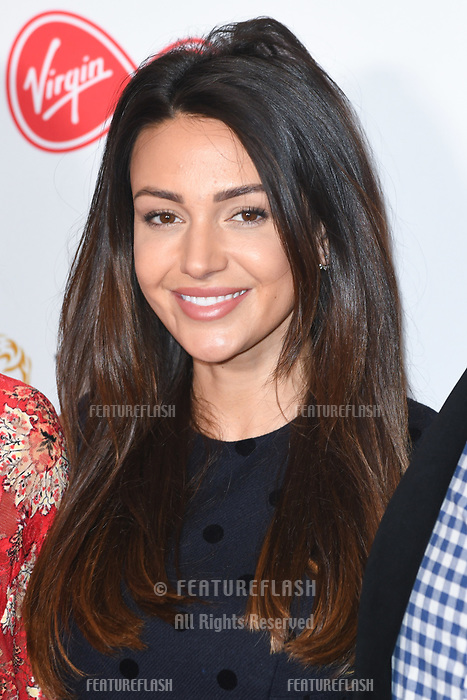 Michelle Keegan at the announcement of the nominations for the BAFTA TV Awards 2018, London, UK. <br /> 04 April  2018<br /> Picture: Steve Vas/Featureflash/SilverHub 0208 004 5359 sales@silverhubmedia.com