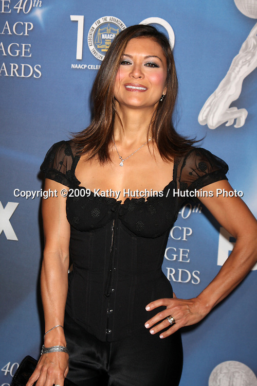 Nia Peeples   arriving at the NAACP Luncheon  at the Beverly Hills Hotel in Beverly Hills, CA on .February 7, 2009.©2009 Kathy Hutchins / Hutchins Photo..