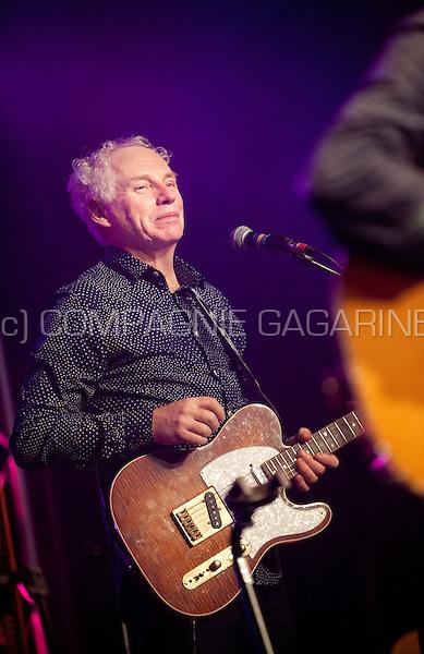 Dutch musician Jan Hendriks performing at the Radio 1 Sessies, in Antwerp (Belgium, 19/11/2015)