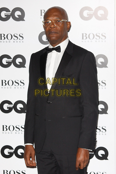 LONDON, ENGLAND - SEPTEMBER 02 :  Samuel L. Jackson arrives at the GQ Men Of The Year 2014 at The Royal Opera House on September 02, 2014 in London, England.<br /> CAP/AH<br /> &copy;Adam Houghton/Capital Pictures