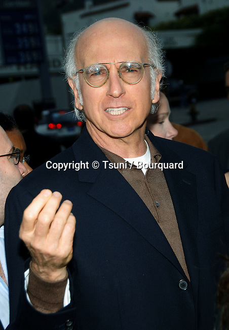 "Larry David arriving at "" AN INCONVENIENT TRUTH Premiere "" at the DGA in Los Angeles. May 16, 2006."