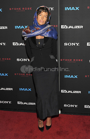 New York, NY-September 22:  Actress Paz de la Puerta attends a special screening of The Equalizer at the AMC Lincoln Square 13 IMAX on September 22, 2014 in New York City.  Credit: John Palmer/MediaPunch