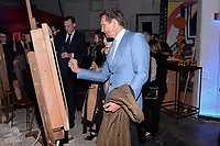 NEW YORK CITY - APRIL 20: Sebastian Roche attends the National Geographic GENIUS: PICASSO Tribeca Film Festival after party at The Genius Studio, 100 Avenue of the Americas, in New York City on April 20, 2018 in New York City.  The Genius: Studio is an interactive installation designed to inspire people to create their own masterpieces. (Photo by Anthony Behar/National Geographic/PictureGroup)