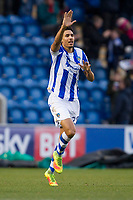Kurtis Guthrie of Colchester United celebrates his stunning opening goal during Colchester United vs Cheltenham Town, Sky Bet EFL League 2 Football at the Weston Homes Community Stadium on 6th January 2018