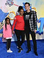 "12 February 2020 - Los Angeles, California - Tiffany Haddish, Jim Carrey. ""Sonic the Hedgehog"" Los Angeles Premiere held at the Regency Village Theater. Photo Credit: Birdie Thompson/AdMedia"