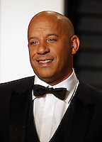 www.acepixs.com<br /> <br /> February 26 2017, LA<br /> <br /> Vin Diesel arriving at the Vanity Fair Oscar Party at the Wallis Annenberg Center for the Performing Arts on February 26 2017 in Beverly Hills, Los Angeles<br /> <br /> By Line: Famous/ACE Pictures<br /> <br /> <br /> ACE Pictures Inc<br /> Tel: 6467670430<br /> Email: info@acepixs.com<br /> www.acepixs.com