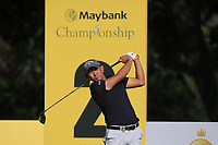 Pavit Tangkamolprasert (THA) on the 2nd tee during Round 1 of the Maybank Championship at the Saujana Golf and Country Club in Kuala Lumpur on Thursday 1st February 2018.<br /> Picture:  Thos Caffrey / www.golffile.ie<br /> <br /> All photo usage must carry mandatory copyright credit (© Golffile | Thos Caffrey)