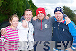 ANNUAL RUN: Deirdre Nagle, James Nagle, Sean Flahive and Steve Bartley, all Castlemaine, who ran off their Turkey Dinners at the annual Farranfore/Maine Valley 10km in Farranfore on St Stephen's Day   Copyright Kerry's Eye 2008