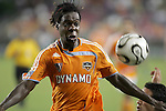 25 July 2007:  Joseph Ngwenya of the Dynamo.  Club America was defeated by the Houston Dynamo 0-1 at Robertson Stadium in Houston, Texas, in a first round SuperLiga 2007 match.