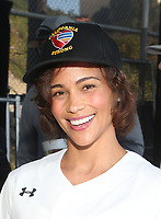 MALIBU, CA - JANUARY 12: Paula Patton, at the 2nd Annual California Strong Celebrity Softball Game at Pepperdine University Baseball Field in Malibu, California on January 12, 2020. <br /> CAP/MPIFS<br /> ©MPIFS/Capital Pictures