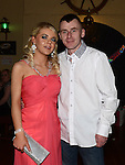 Hannah Kerrigan celebrating her 21st birthday in the Mariner with boyfriend Paul Joyce Emma Photo:Colin Bell/pressphotos.ie