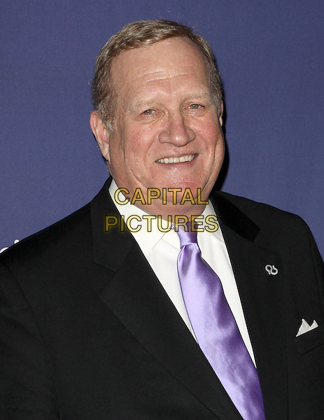 "KEN HOWARD.18Th Annual ""A Night at Sardi's"" Benefitting The Alzheimer's Association held At The Beverly Hilton Hotel, Beverly Hills, California, USA..March 18th, 2010.headshot portrait black  suit jacket purple tie.CAP/ADM/KB.©Kevan Brooks/AdMedia/Capital Pictures."