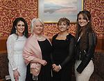 Pictured at the Westport GAA Club dinner dance at Hotel Westport were Grainne Kennedy, Mary Cawley, Kathleen and Ellen Moran.<br />Pic Conor McKeown