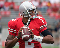 September 27, 2008: Ohio State quarterback Terrelle Pryor.. The Ohio State Buckeyes defeated the Minnesota Gophers 34-21 on September 27, 2008 at Ohio Stadium, Columbus, Ohio.