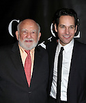 Ed Asner and  Paul Rudd attending the Opening Night Performance After Party for 'Grace' at The Copacabana in New York City on 10/4/2012.