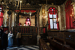 Venezia Ghetto La Scola Spagnola è la più grande più famosa delle sinagoghe veneziane. Nella foto un momento della cerimonia di Una Bar Mitzvah