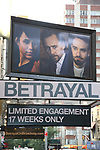 """Betrayal"" - Theatre Marquee"
