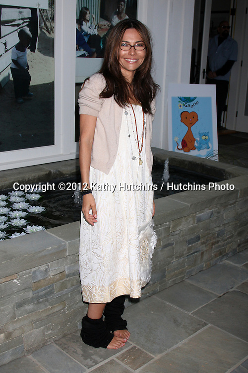 """LOS ANGELES - APR 28:  Vanessa Marcil-Giovinazzo at the Launch of """"Baby Gagoo"""" Clothing Line by Vanessa Marcil-Giovinazzo at private home on April 28, 2012 in Malibu, CA"""