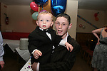 Keagan McGuirk-Clarke and Ciarán Clarke at Ian Clarkes 21st in the Rugby Club....Photo NEWSFILE/Jenny Matthews.(Photo credit should read Jenny Matthews/NEWSFILE)....This Picture has been sent you under the condtions enclosed by:.Newsfile Ltd..The Studio,.Millmount Abbey,.Drogheda,.Co Meath..Ireland..Tel: +353(0)41-9871240.Fax: +353(0)41-9871260.GSM: +353(0)86-2500958.email: pictures@newsfile.ie.www.newsfile.ie.FTP: 193.120.102.198.