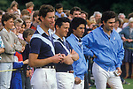Prince Charles playing Polo. Windsor  Great Park Berkshire. 1987 1980s UK