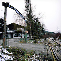 Prelovo Hotel, which was used in the 1992-1995 war as a 'rape camp'. Between 25,000 and 50,000 women were raped in Bosnia and Hercegovina during the conflict in the Balkans. Only 11 men have been convicted. The responsibility for future trials has now been handed to the Bosnian Government, who so far have shown little appetite to pursue suspected rapists..©Robin Hammond/PANOS/Felix Features