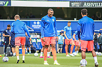 Huddersfield Town's Collin Quaner during the pre-match warm-up <br /> <br /> Luke Brennan/CameraSport<br /> <br /> The EFL Sky Bet Championship - Queens Park Rangers v Huddersfield Town - Saturday 10th August 2019 - Loftus Road - London<br /> <br /> World Copyright © 2019 CameraSport. All rights reserved. 43 Linden Ave. Countesthorpe. Leicester. England. LE8 5PG - Tel: +44 (0) 116 277 4147 - admin@camerasport.com - www.camerasport.com