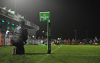 14th December 2013; Connacht head coach, Pat Lam, watches from the sideline. Heineken Cup Pool 3, round 4, Connacht v Toulouse, The Sportsground, Galway. Picture credit: Tommy Grealy/actionshots.ie.