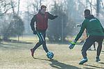 11.01.2018, Trainingsgelaende, Bremen, GER, 3.FBL, Training Werder Bremen II<br /> <br /> im Bild<br /> Joshua Sargent (Neuzugang Werder Bremen #) am Ball, <br /> <br /> Foto &copy; nordphoto / Ewert