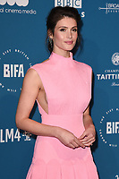 LONDON, UK. December 02, 2018: Gemma Arterton at the British Independent Film Awards 2018 at Old Billingsgate, London.<br /> Picture: Steve Vas/Featureflash
