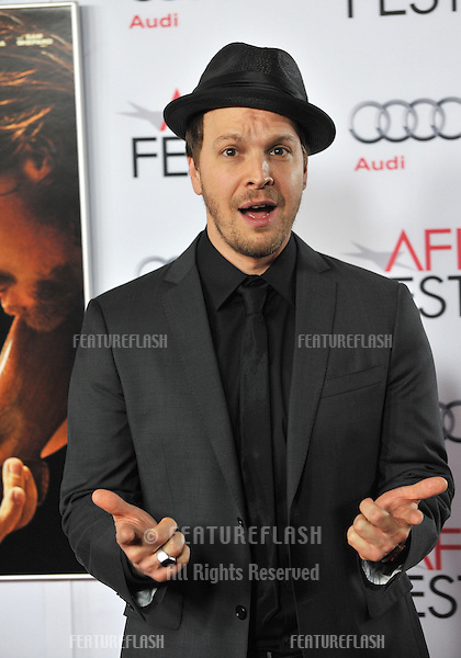 Gavin DeGraw at the Los Angeles premiere of &quot;Out of the Furnace&quot;, part of the AFI Fest 2013, at the TCL Chinese Theatre, Hollywood.<br /> November 9, 2013  Los Angeles, CA<br /> Picture: Paul Smith / Featureflash