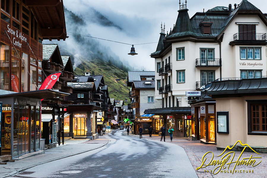 Downtown Zermatt Switzerland
